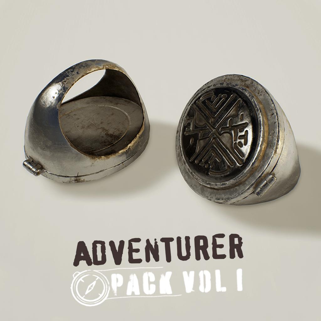 Adventurer Pack - Sundial Ring