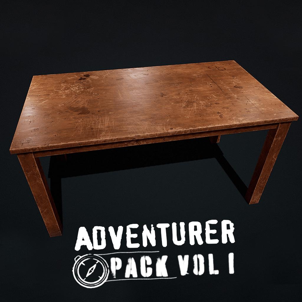Adventurer Pack - Table