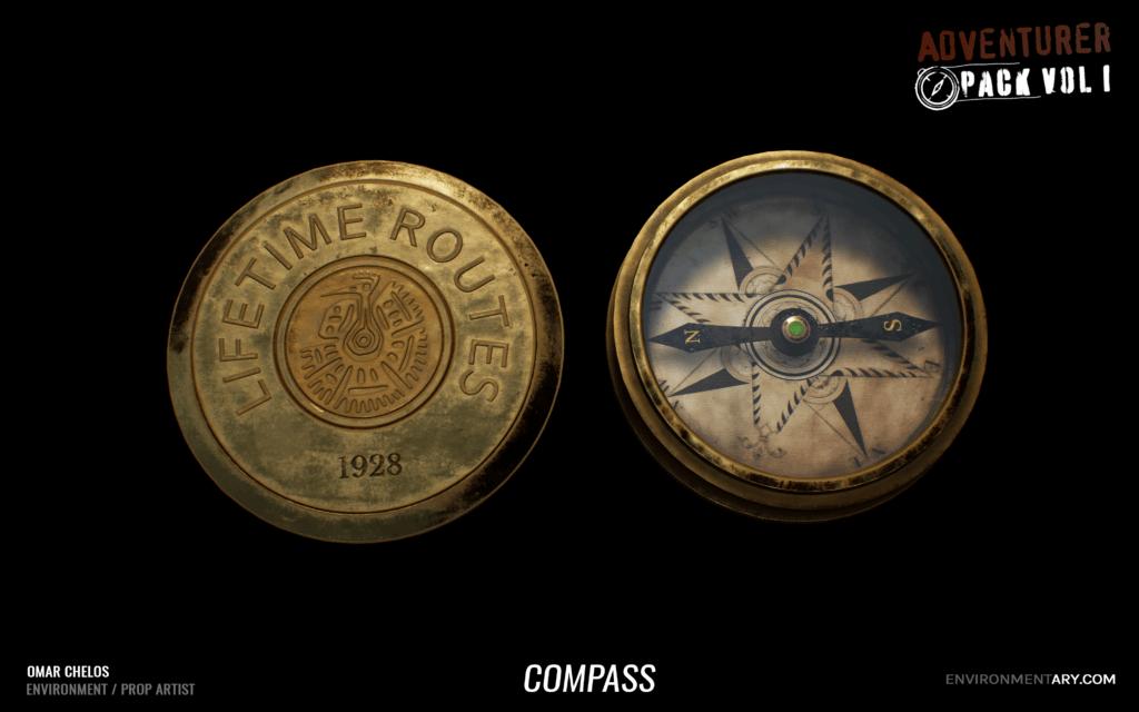Adventurer Pack - Compass 02