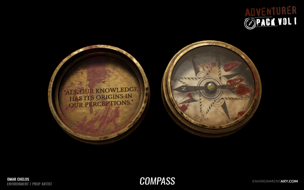 Adventurer Pack - Compass 03