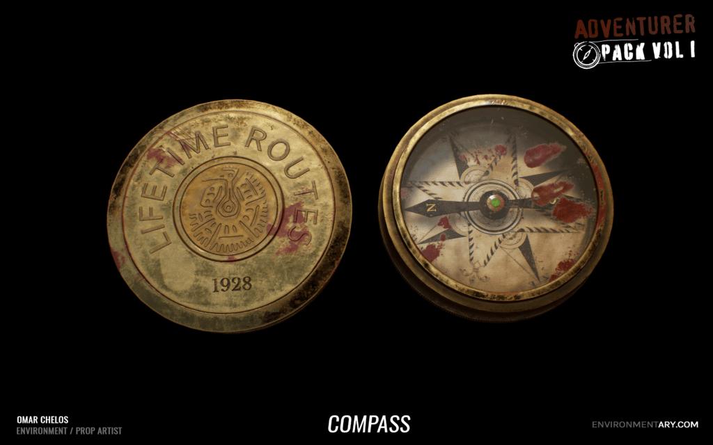 Adventurer Pack - Compass 04