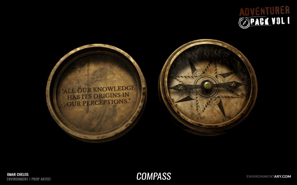 Adventurer Pack - Compass 05