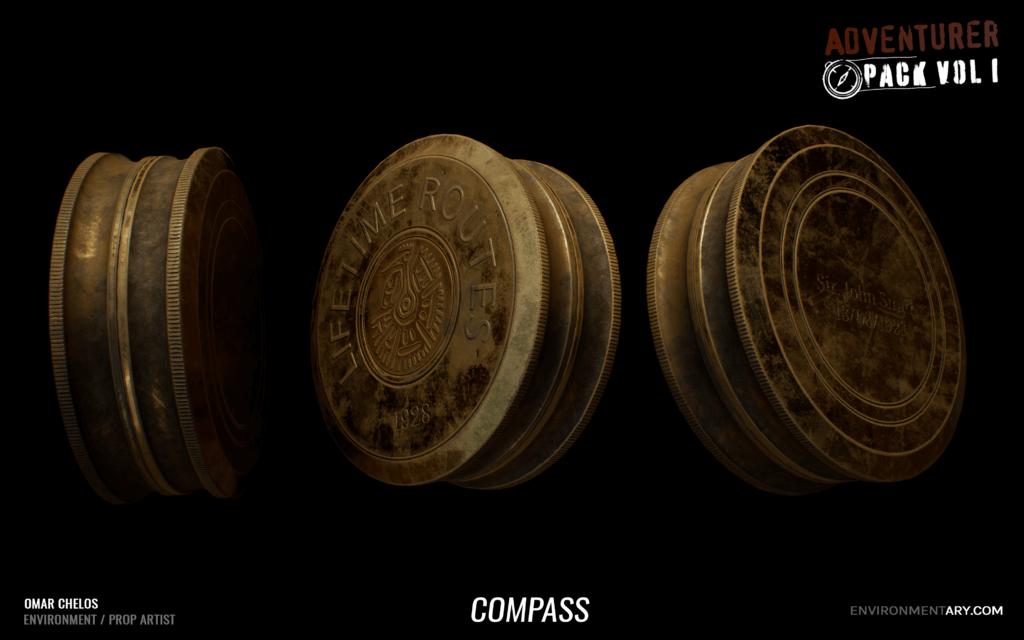 Adventurer Pack - Compass 06