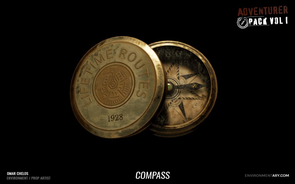 Adventurer Pack - Compass 07
