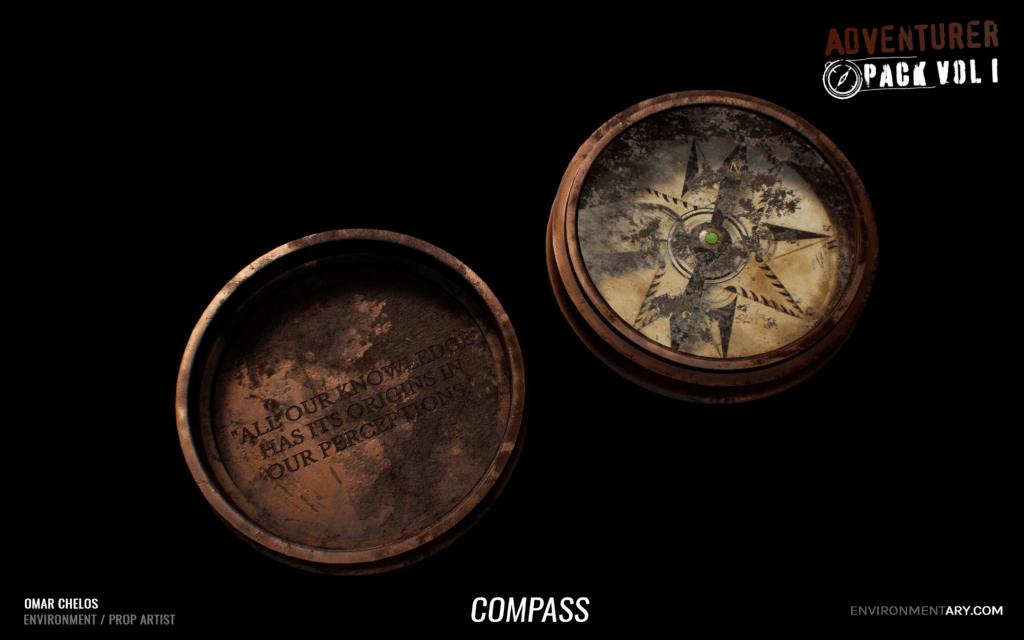 Adventurer Pack - Compass 12