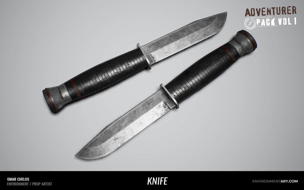 Adventurer Pack - Knife 01