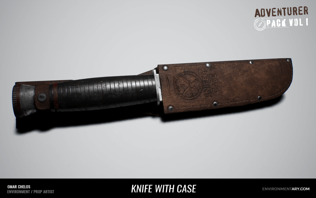Adventurer Pack - Knife with Case 02