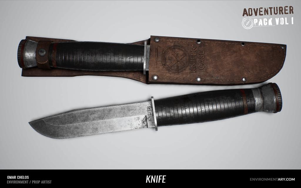 Adventurer Pack - Knife with Case 04