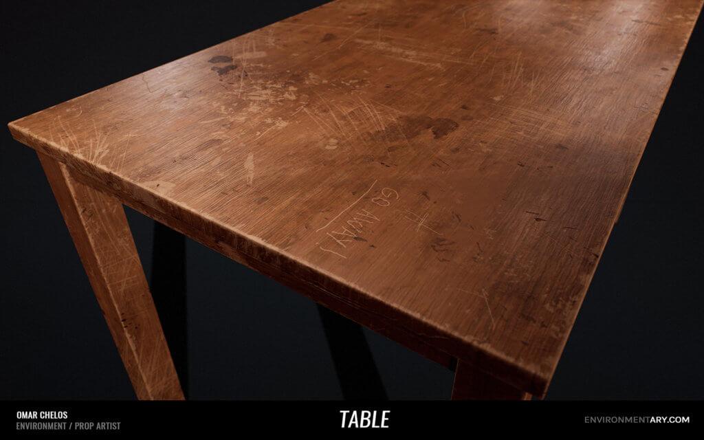 Adventurer Pack - Wooden Table 03
